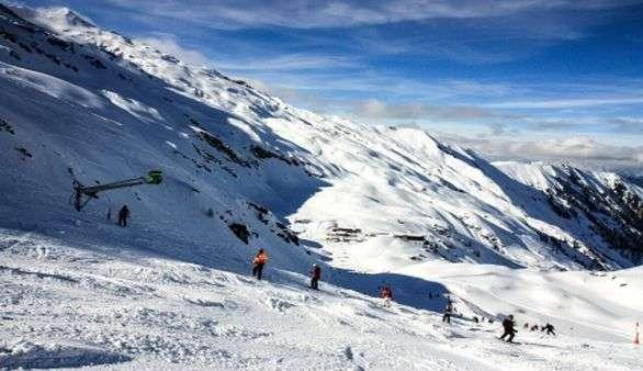 Skifahren in Kaprun