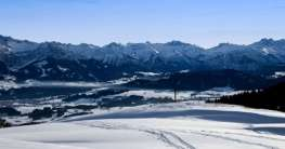 Skifahren in Oberstdorf