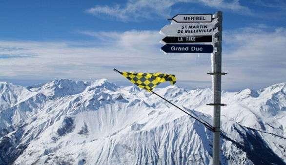 Skifahren in Les Trois Vallees