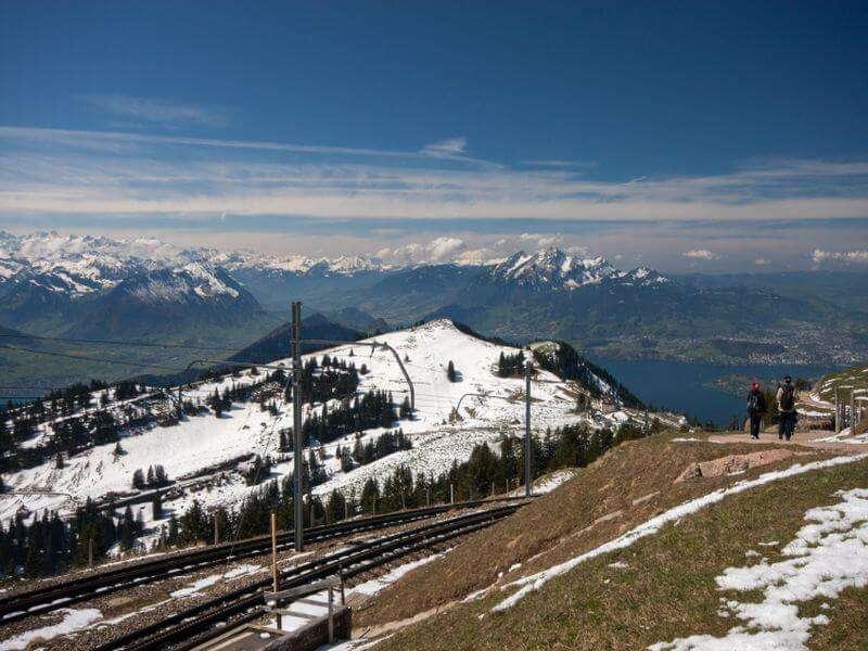Rigi in der Schweiz