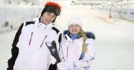 Skifahren in den Emiraten