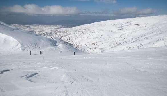Skifahren in Israel