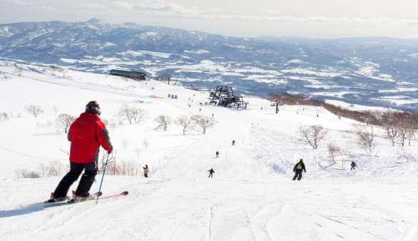 Skifahren in Japan