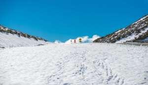 Skifahren in Kirgisistan