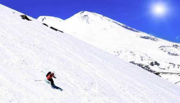 Skifahren in Russland