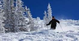 Skifahren in Utah