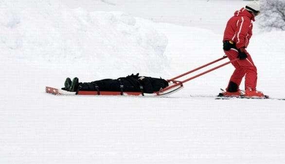 Wintersportunfälle - Der ganz normale Pistenwahnsinn